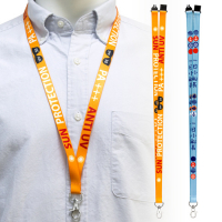 "5/8"" (15mm) Full Colour Dye Sublimation Lanyards"