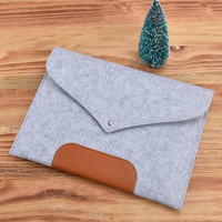 Laptop Sleeve Case Carry Bag Felt Pouch Cover For Notebook MacBook