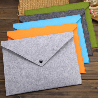 Multi-functional A4 Felt Document Bags Portfolio Organizer-34cm x 25cm