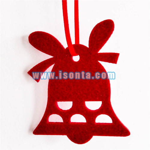 Custom Felt Christmas Ornaments Xmas Tree Hanging Decoration-Bell