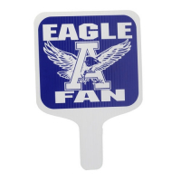 Werbeartikel Team Spirit Standard Square Hand Fan