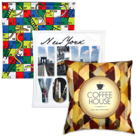 Sublimation cushion cover 49x49cm without zipper closure