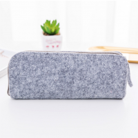 Stylish Felt Pencil Bag Case Sleeve 8.5cm x 20.8cm
