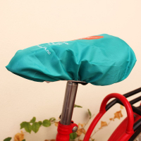 210D Polyester Screen Printed Bicycle Saddle Rain Cover Whole Cutting