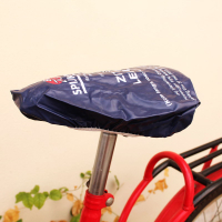 Screen Printed PVC Bicycle Seat Cover Crusing & Exerciser Bike Seat Cover