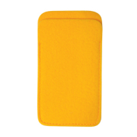 Classic Mobile Phone Case Bag 14 x 8.5 cm-Orange