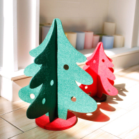 3D Felt Mini Christmas Tree Christmas Ornament Desktop Decor