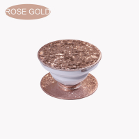 Пользовательский Glitter Pop Socket Мобильный телефон Stent Phone Grip -Rose Gold