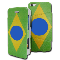 Unique Design PU Leather Folding Cases for iphone 5