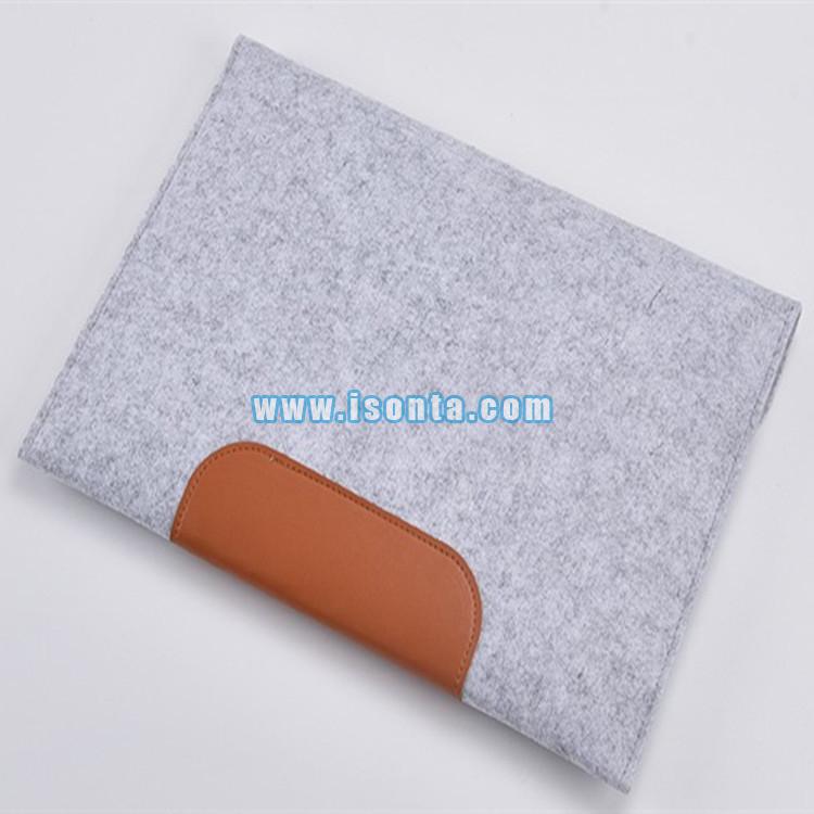 2d13a597c006 Laptop Sleeve Case Carry Bag Felt Pouch Cover For Notebook ...
