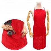 100% Cotton Apron with Front Pocket in 20x25cm