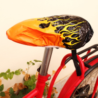 Full Color Custom Printed PVC Bike Seat Cover-Whole Cutting