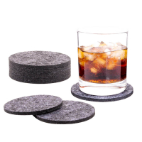 """Custom Logo Round Felt Coaster Cup Mat Coffee Coaster Home Ornament"