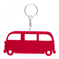 Felt Vehicles Key Tag-Bus