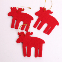 Felt Christmas Ornaments Christmas Tree Hangings-Elks
