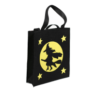 Promotional Reusable Halloween Felt Grocery Shopping Bag