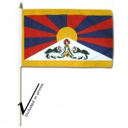 12 x 18 Inches Tibetan Flag