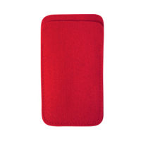 Classic Mobile Phone Case Bag 14 x 8.5 cm-Red