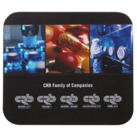 "7"" x 8"" x 1/8"" Custom Full Color Soft Rectangular Computer Mouse Pad"