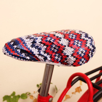 Full Color Custom Printed PVC Bicycle Saddle Cover-Whole Cutting
