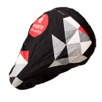 Water Resistant 190T Polyester Fabric Bicycle Saddle Cover-Sublimation