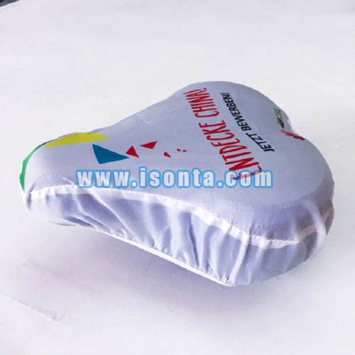 190T Polyester Sublimation Promotional Bicycle Saddle Rain Cover