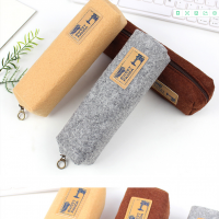 Felt Pencil Bag Case Sleeve Stationery Bag