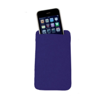 100% Merino Wool Felt Mobile Phone Bag Case 8 x 15 cm