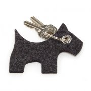100% Germany Merino Wool Felt Key Hanger-Dog