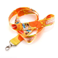 "1"" (25mm) Custom Dye Sublimation Lanyards-with Safety Breakaway"