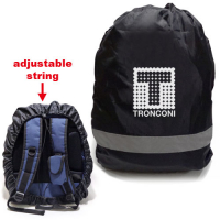 Premium Large Size Reflective 210D Polyester Backpack Covers