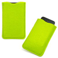 Classic Eco Friendly Polyester Felt Pouch Sleeve for iPhone 5