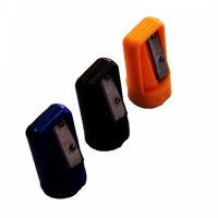 Promotional Plastic Printed Carpenter Pencil Sharpener