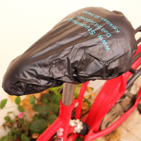 PVC Waterproof Outdoors Cycling Bike Bicycle Saddle Cover