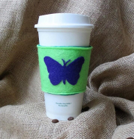Felt Cup Sleeve Coffee Sleeve Drink Sleeve with Customized Design