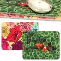 Full Color Felt Rectangular Mouse Mats Free-Contour Mouse Pads (5mm thick)