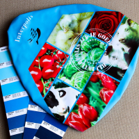 All Over Screen Printed PVC Bicycle Bike Cycling Saddle Seat Cover