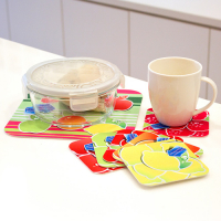 Sublimation Felt Square Placemat Set 3mm Thickness (7 Pieces)