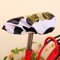 210D Polyester Water Repellent Screen Printed Cycling Bike Seat Cover