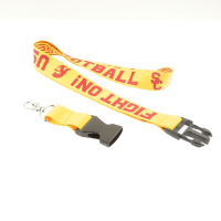 "5/8"" (15mm) Custom ID Lanyards with Heat Transferred Sublimation Imprint"