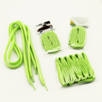 Customized Promotional Glow in the Dark Shoelaces Tubular Lanyards (Pairs)