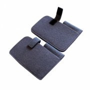 100% Merino Wool Felt Mobile Phone Bag with Pen Holder