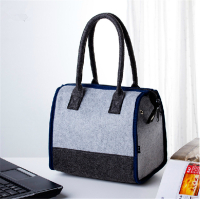 Portable isolierte Lunch Bag Filz Kühltasche Picknick Lagerung Tote Handtasche Lunch Box