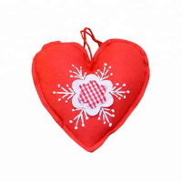 Handmade Felt Craft Christmas Tree Hanging Ornaments-Heart