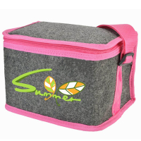 Promotional Felt Cooler Bag Wholesale Insulated Lunch Bag