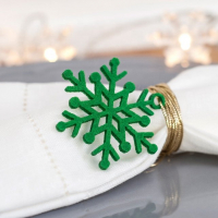 Snowflake Christmas Tree Hanging Ornament Soft Felt Xmas Decoration