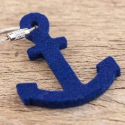 100% Merino Wool Felt Hanger-Anchor,Steel Rope w/Screw Cap