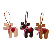 """Custom Handmade Felt Christmas Ornaments Xmas Hanging Decorations"