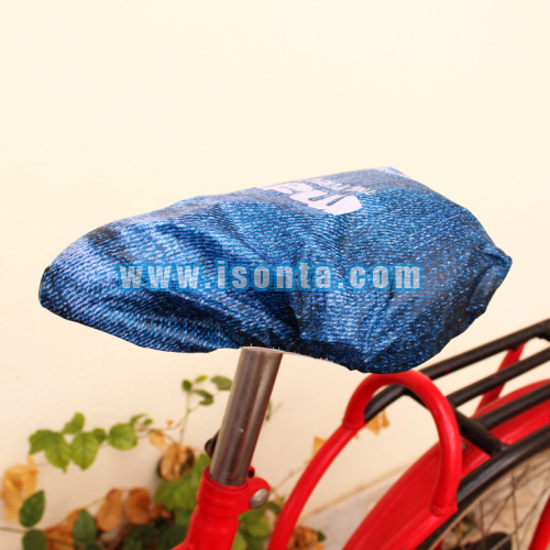 190T Polyester Sublimation Cycling Bike Saddle Cover-Whole Cutting