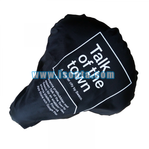210D Polyester Waterproof Screen Printed Cycling Bike Seat Cover